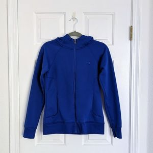 Under Armour Blue Fleece Hoodie Jacket
